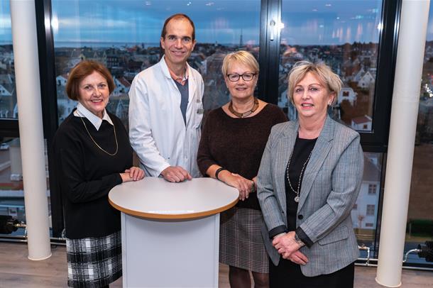 Kvartetten bak HSRs forskningsfond